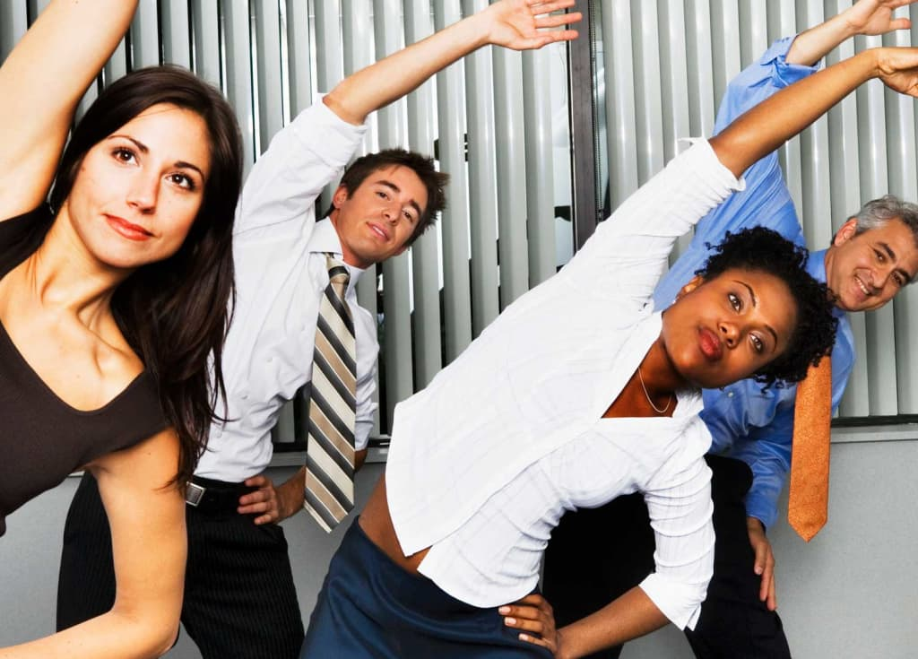 keep your body moving at work