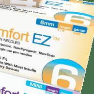 Comfort EZ Insulin Pen Needles - 100 count