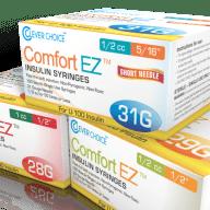 Comfort EZ Insulin Syringes