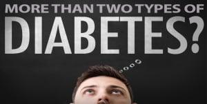 More than 2 Types of Diabetes
