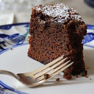 Sugar-free Chocolate & Ginger Cake