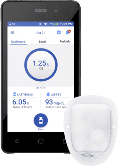 Omnipod DASH Insulin Pump