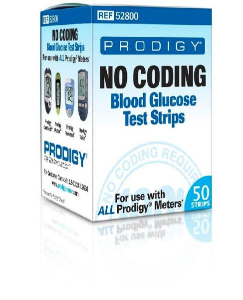 Prodigy No Coding Test Strips