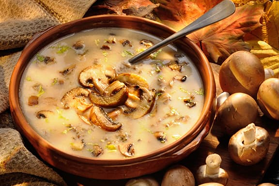 Mushroom-Soup-with-sherry