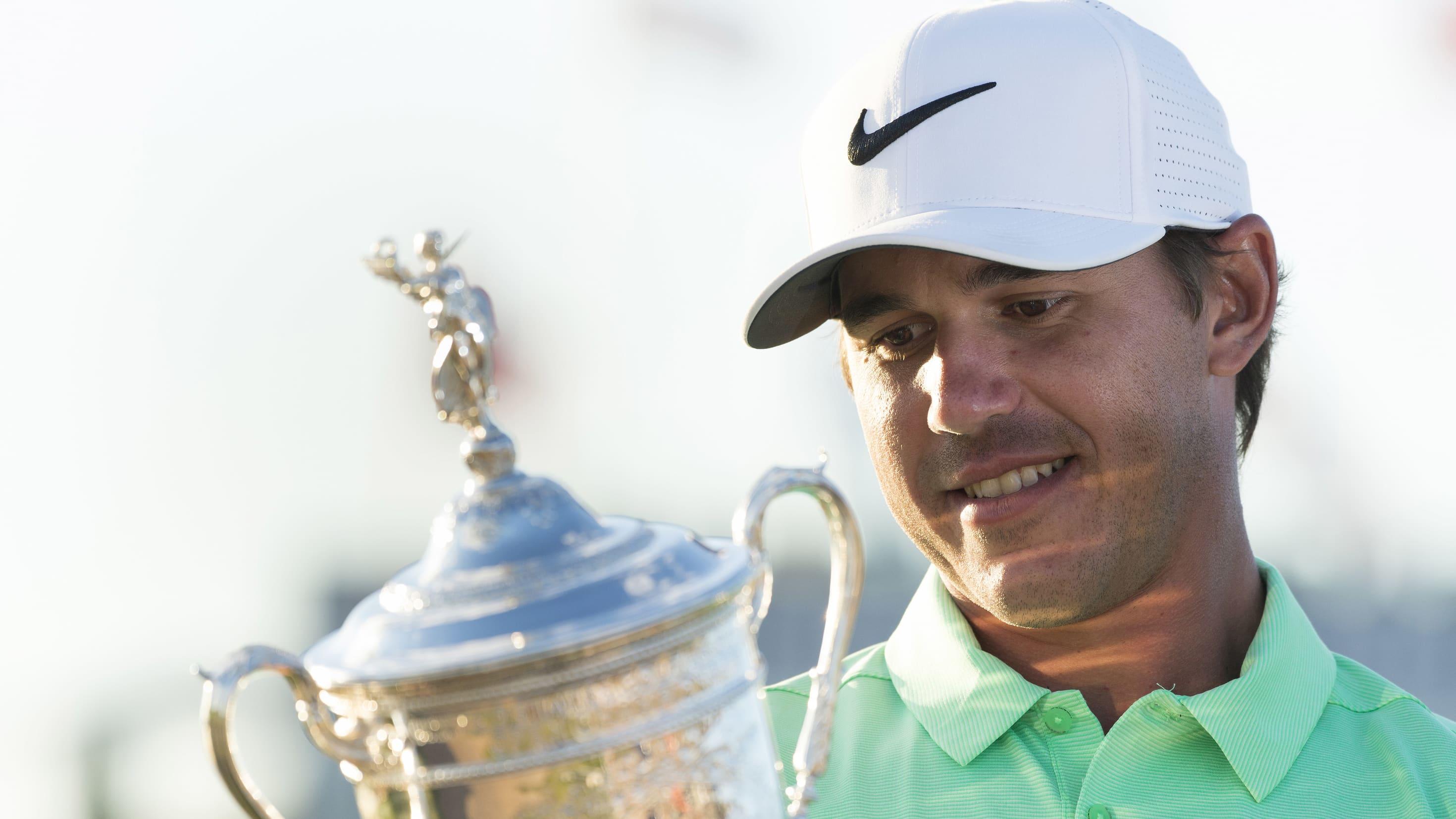 a6c1c273e91e4 Brooks Koepka added his name to the illustrious list of U.S. Open champions  last June at Erin Hills. (USGA JD Cuban)