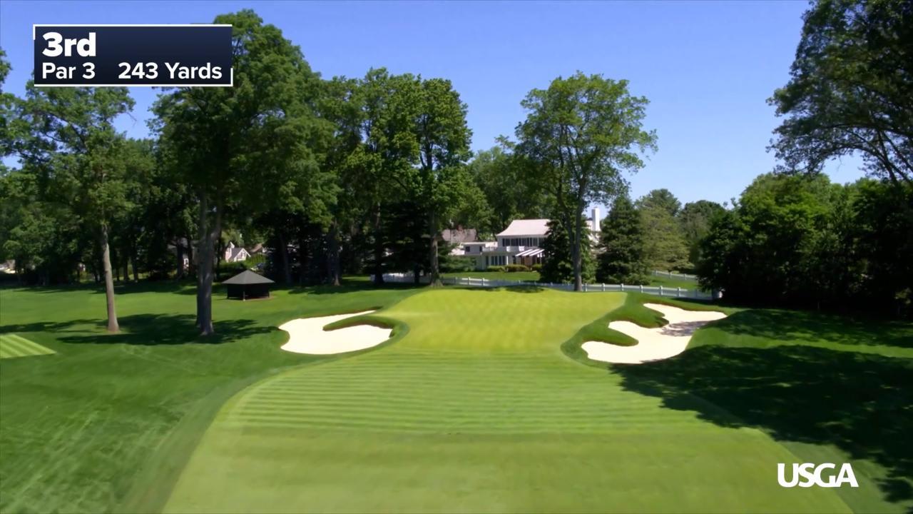 Winged Foot Golf Club Hole No 7