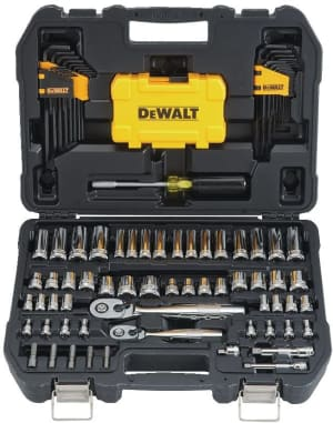 DEWALT Mechanics Tools Kit and Socket Set, 108-Piece