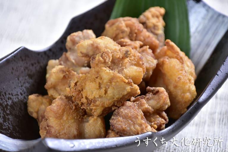 鶏の唐揚げの完成イメージ