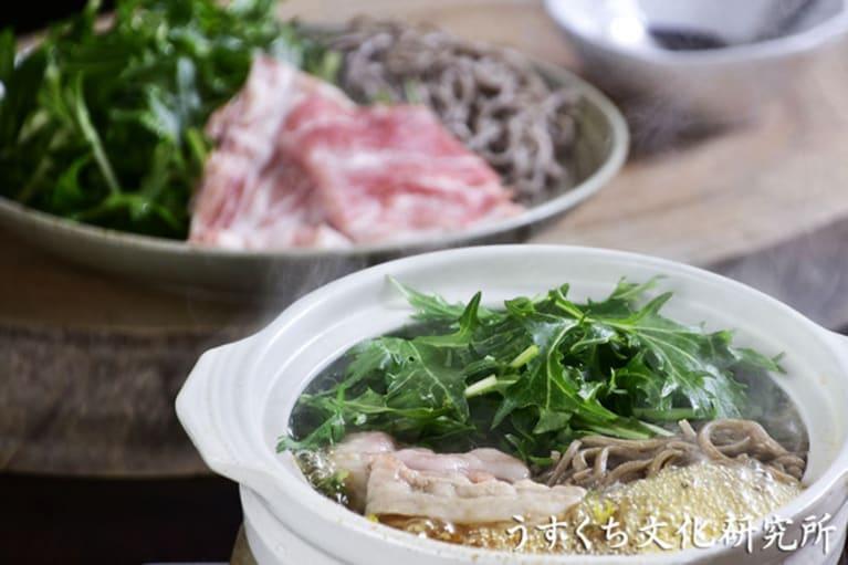豚肉のハリハリ鍋の完成イメージ