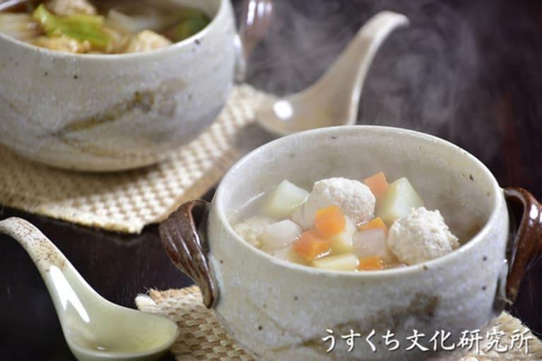 ころころ野菜スープの完成イメージ