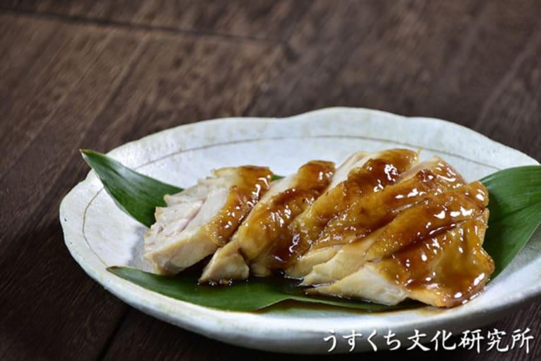 鶏の照り焼きの完成イメージ