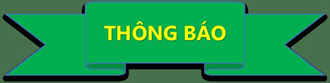 Banner thông báo