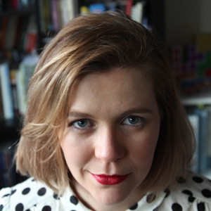 Photo portrait of writer Cass Frances