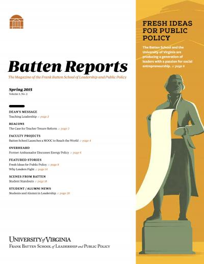 Batten Reports: Spring 2015