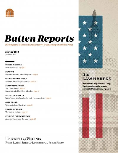 Batten Reports: Spring 2014