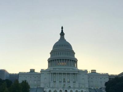 The Capital at dusk