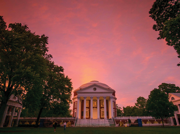 Rotunda at sunset