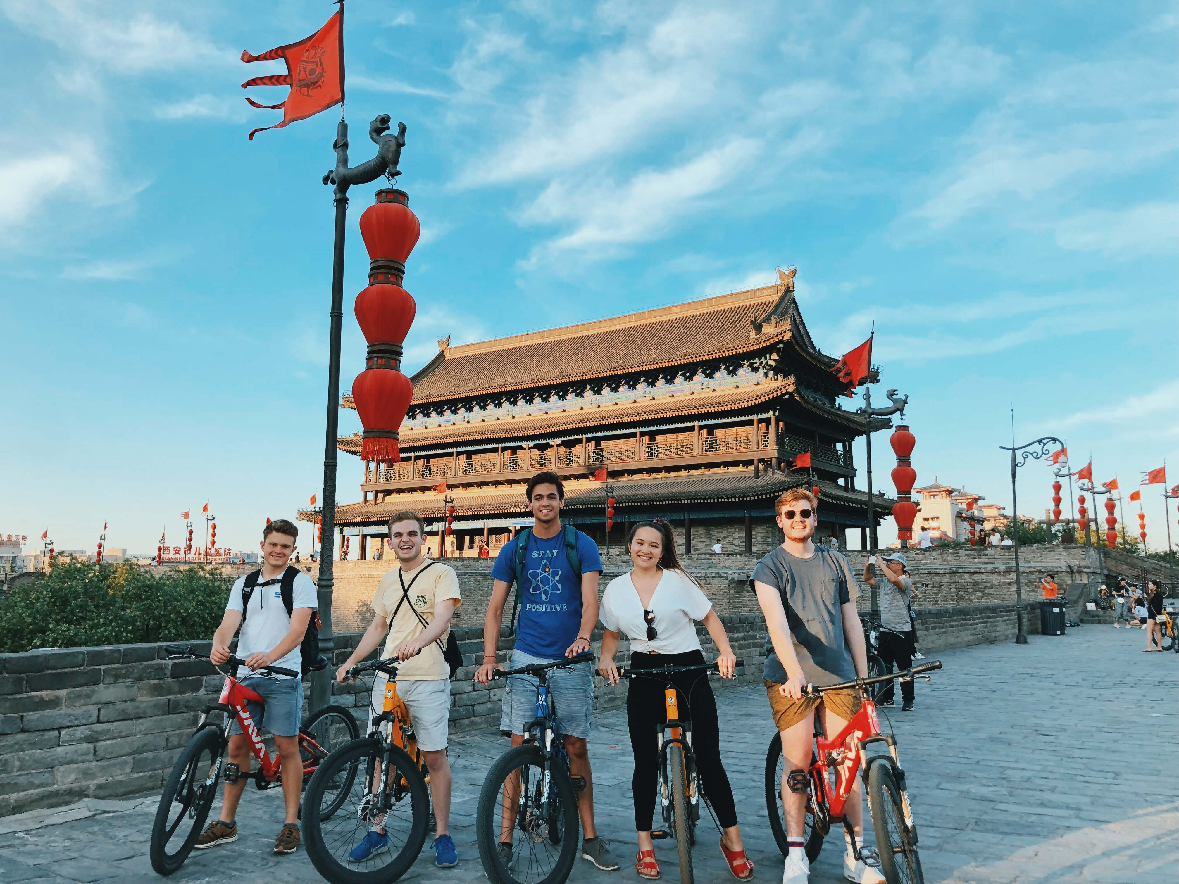 Batten student Zack Diamond interning in China