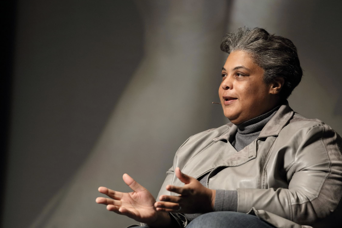 Author and cultural critic Roxane Gay
