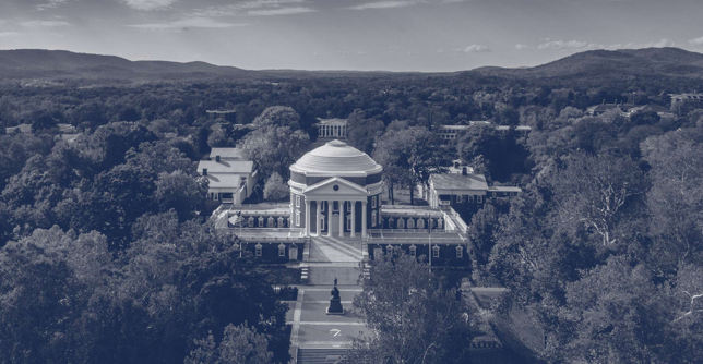 Photo of rotunda from the sky