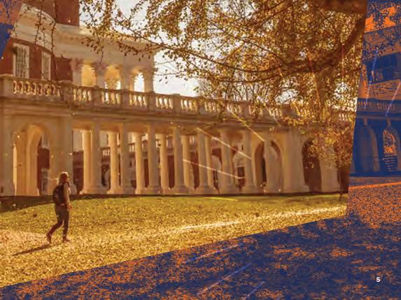 Girl walking by Rotunda