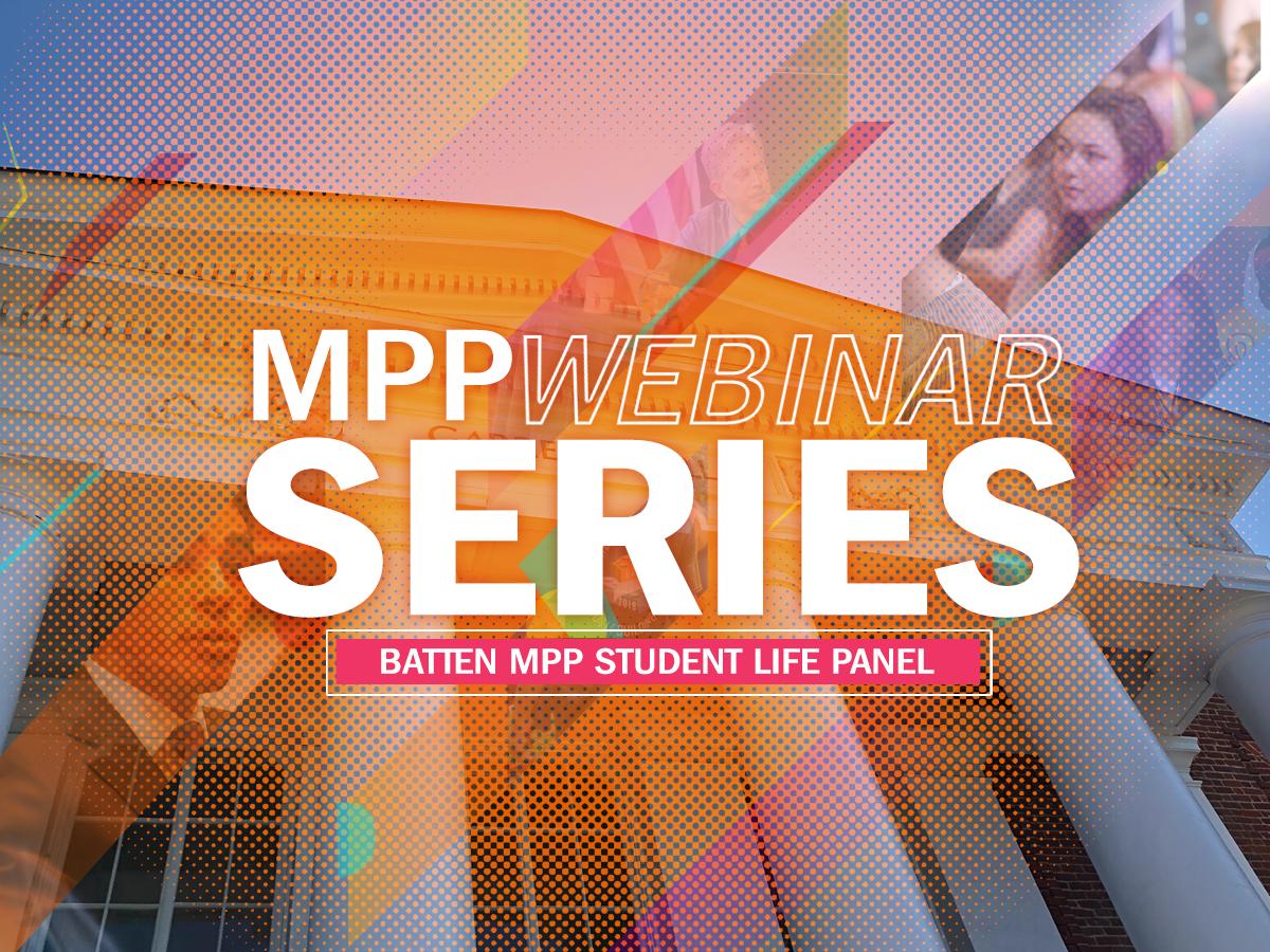 MPP Student Life Panel