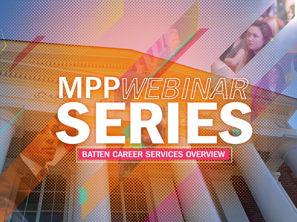 Batten Career Services Overview