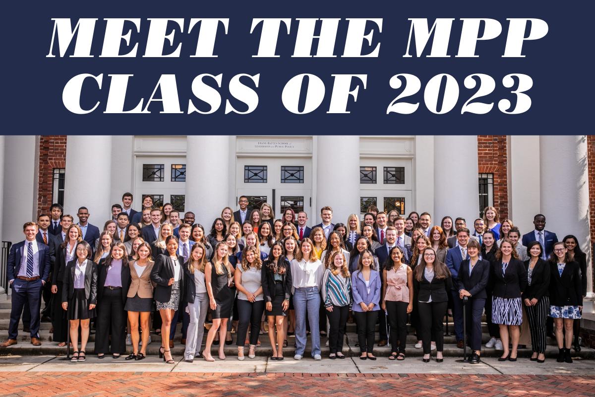 Meet the MPP Class of 2023