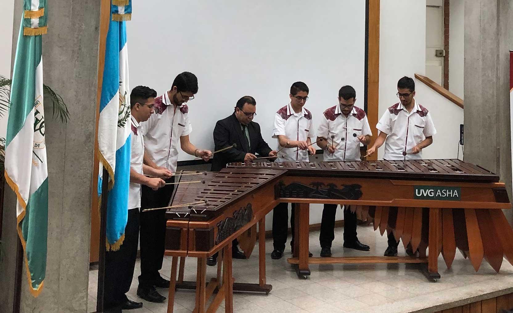 Lanzamiento del Portal Web Didáctico de Marimba Guatemalteca, Plin