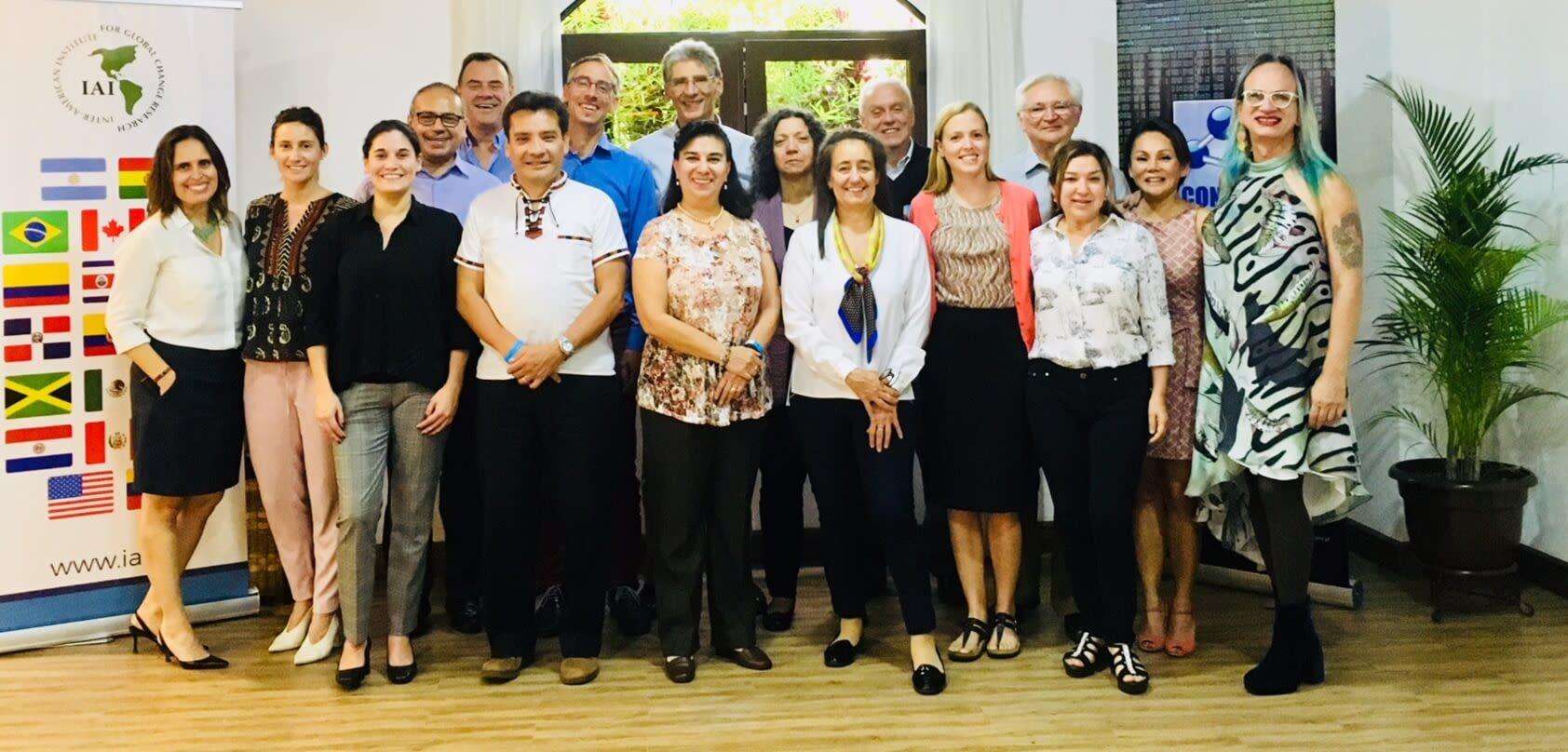 Reunión de científicos por el cambio climático