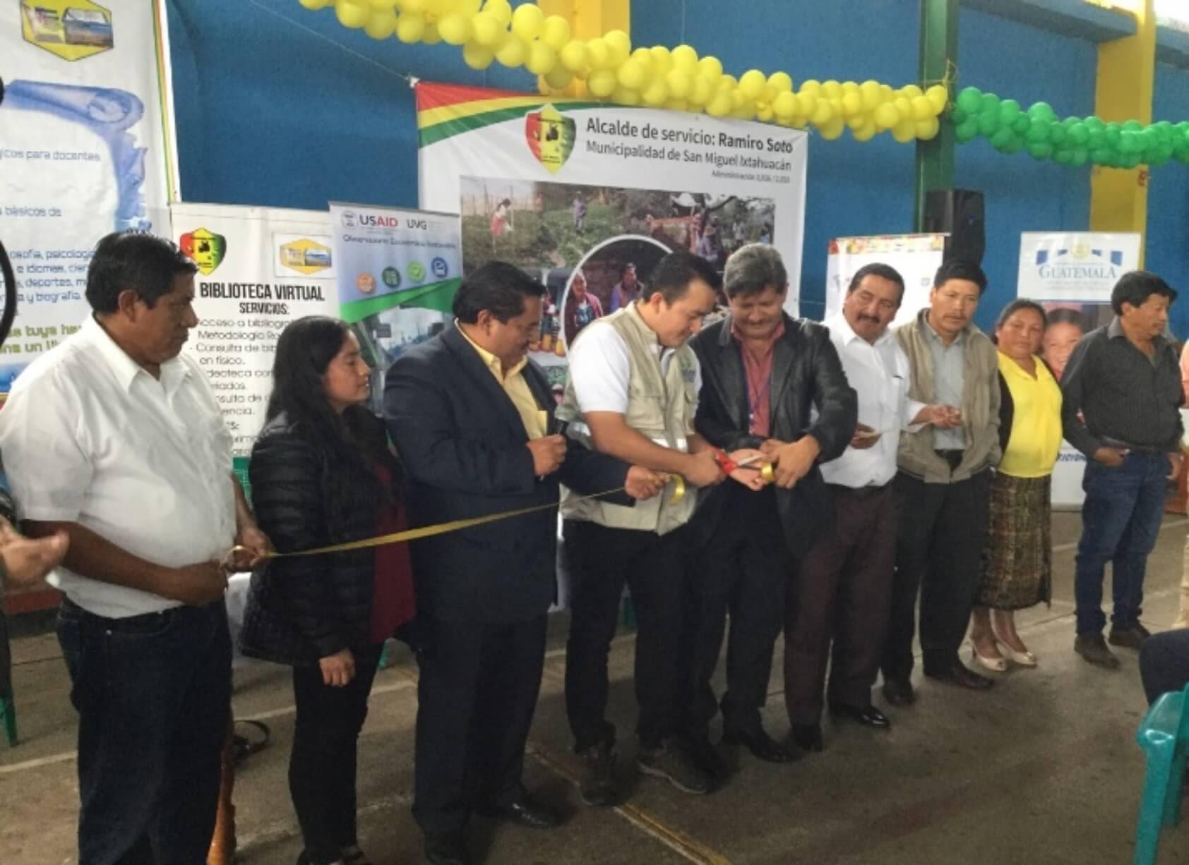 Apertura de la primera oficina de desarrollo local y seguridad alimentaria en San Marcos