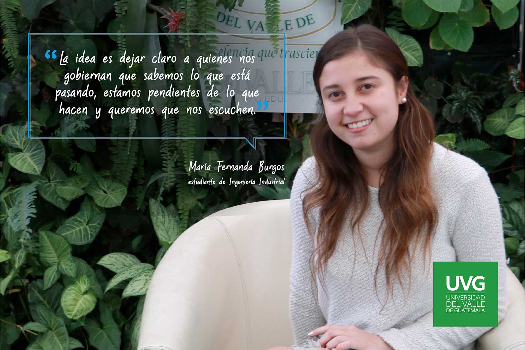 Estudiantes de UVG buscan incidir en propuestas para Guatemala