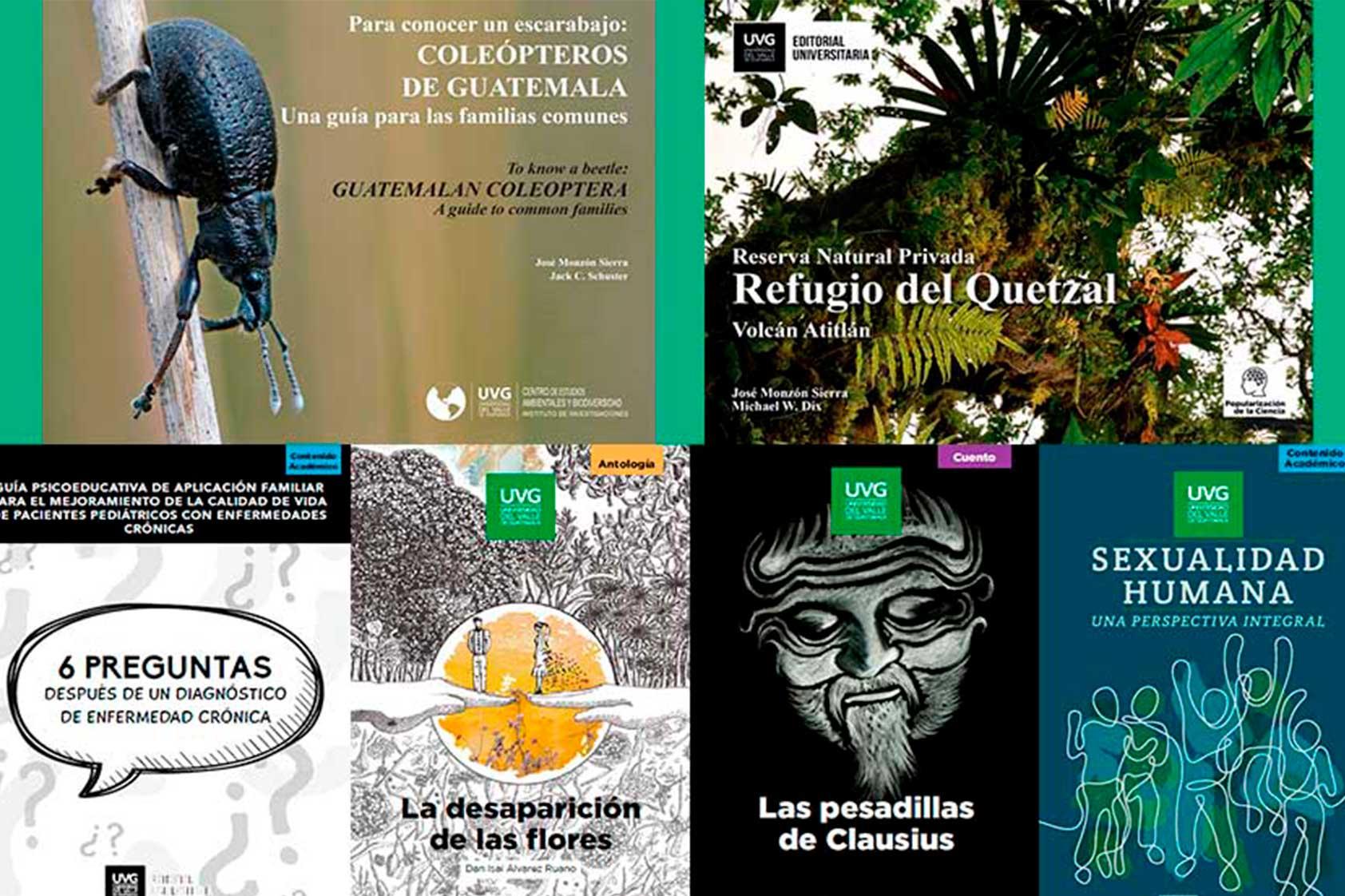 Editorial UVG arranca con importante aporte a la literatura e investigación