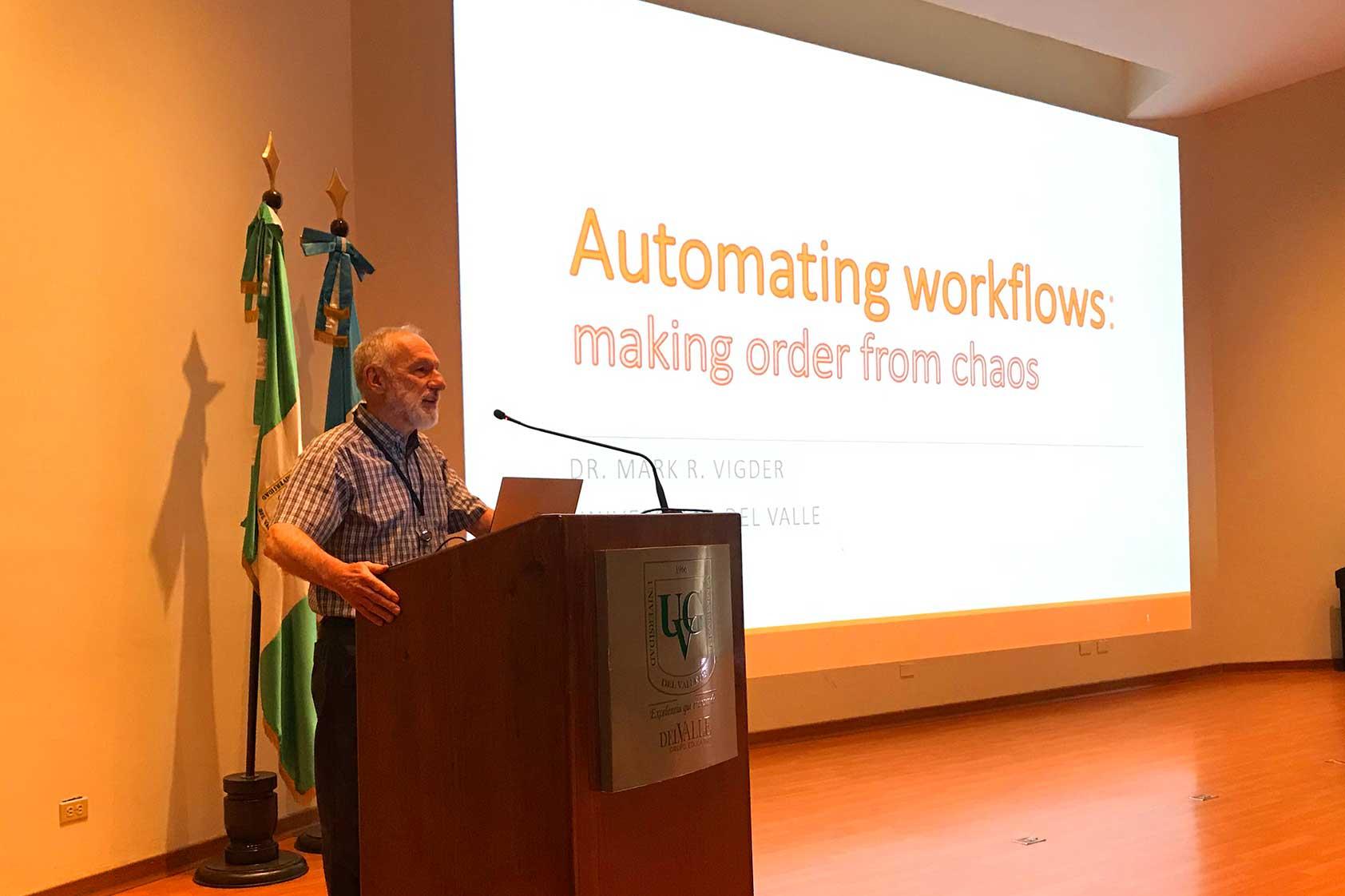 Automatización de Flujos de Trabajo, haciendo orden del caos.