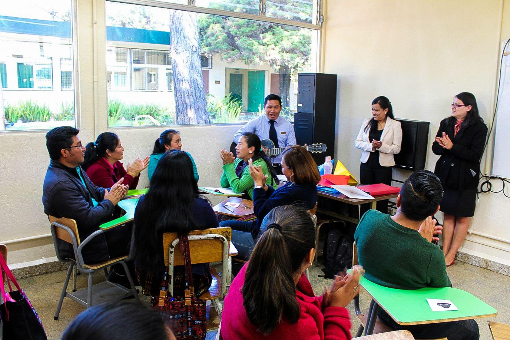 Mejorando la calidad educativa en el Altiplano