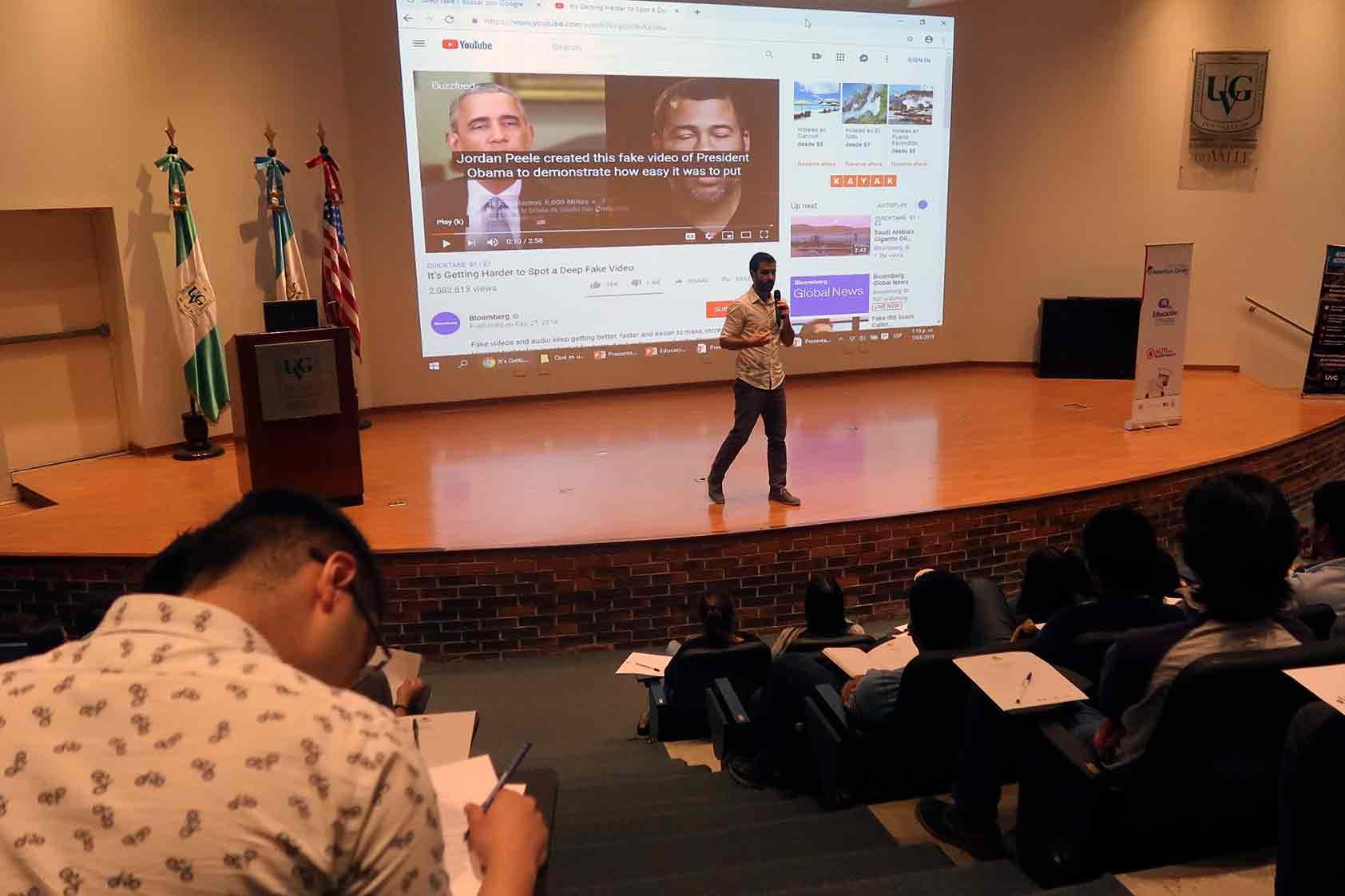 Alto a la desinformación: educación mediática en el año electoral