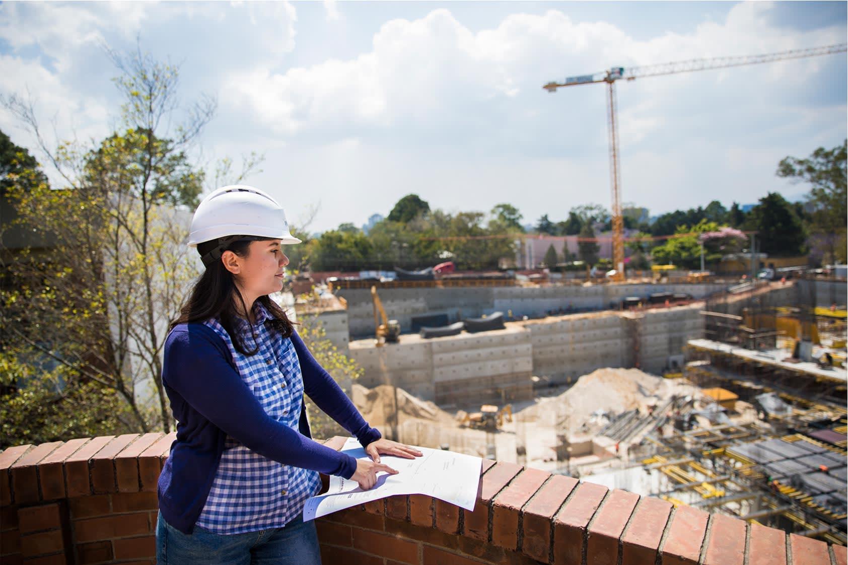 Día de la Mujer: Esmeralda Canahuí y su trabajo en la construcción del CIT