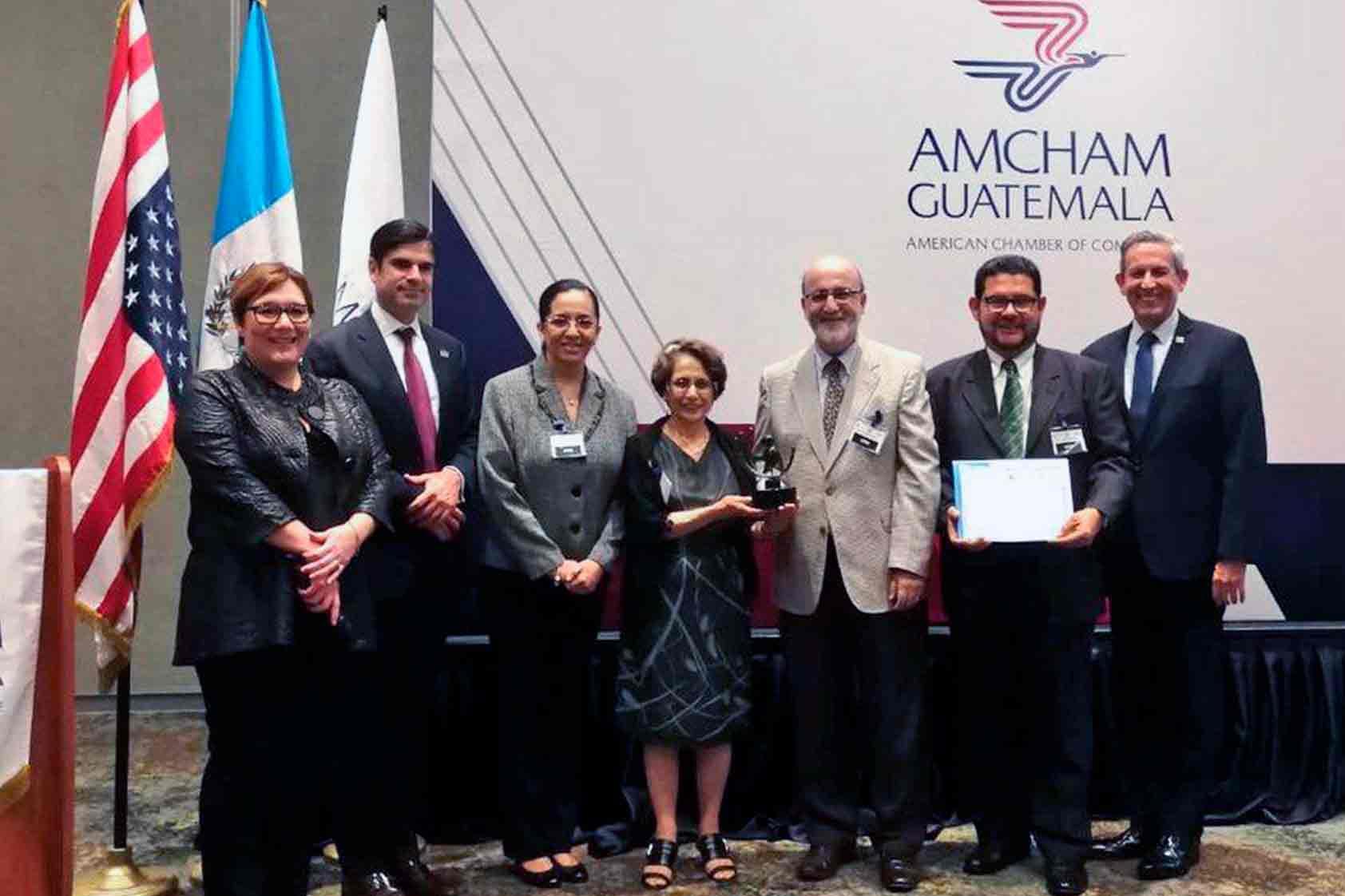 AmCham entrega reconocimiento a la Sostenibilidad Empresarial