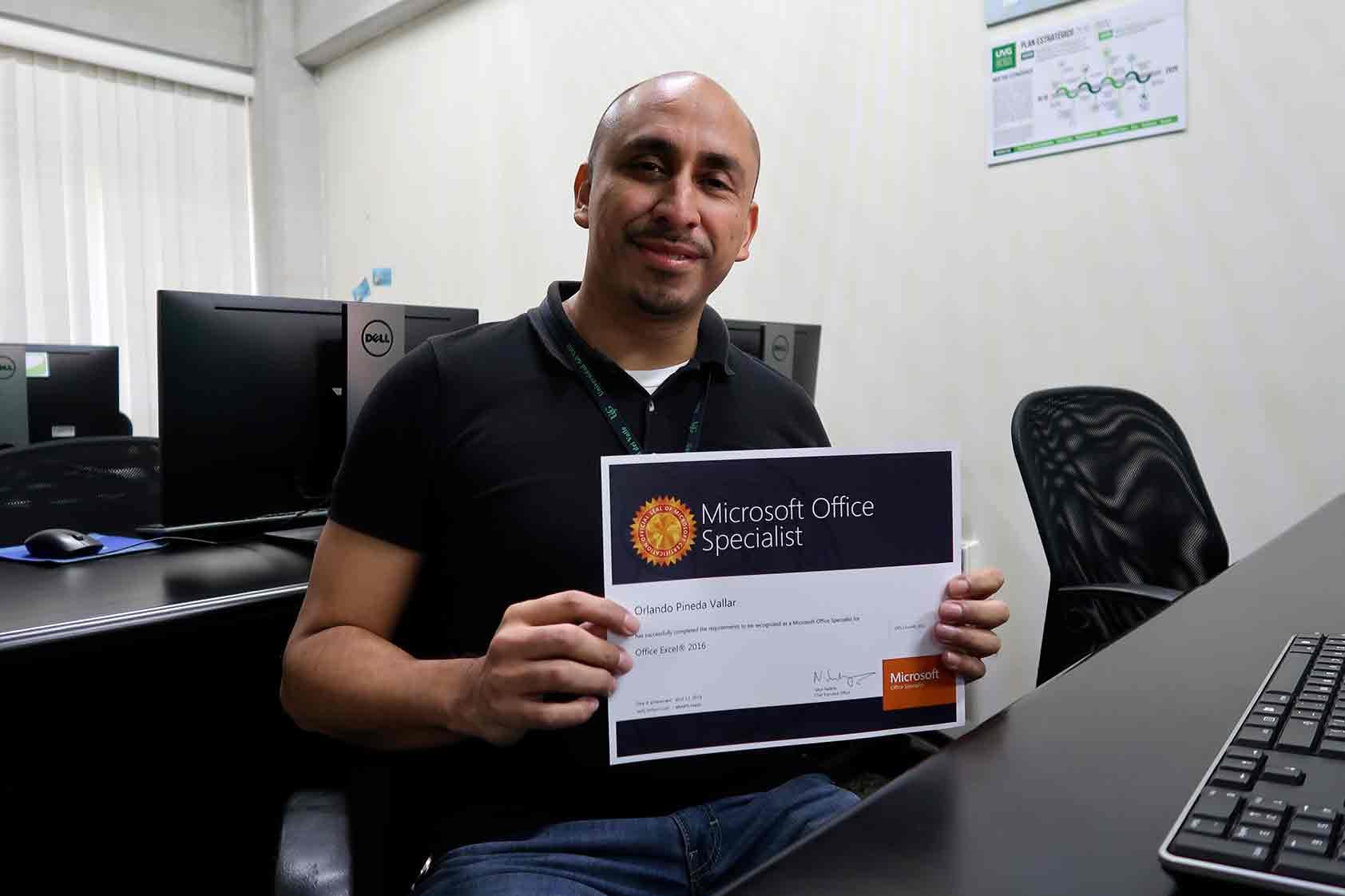 ¡Han iniciado los procesos de certificación de Microsoft en UVG!
