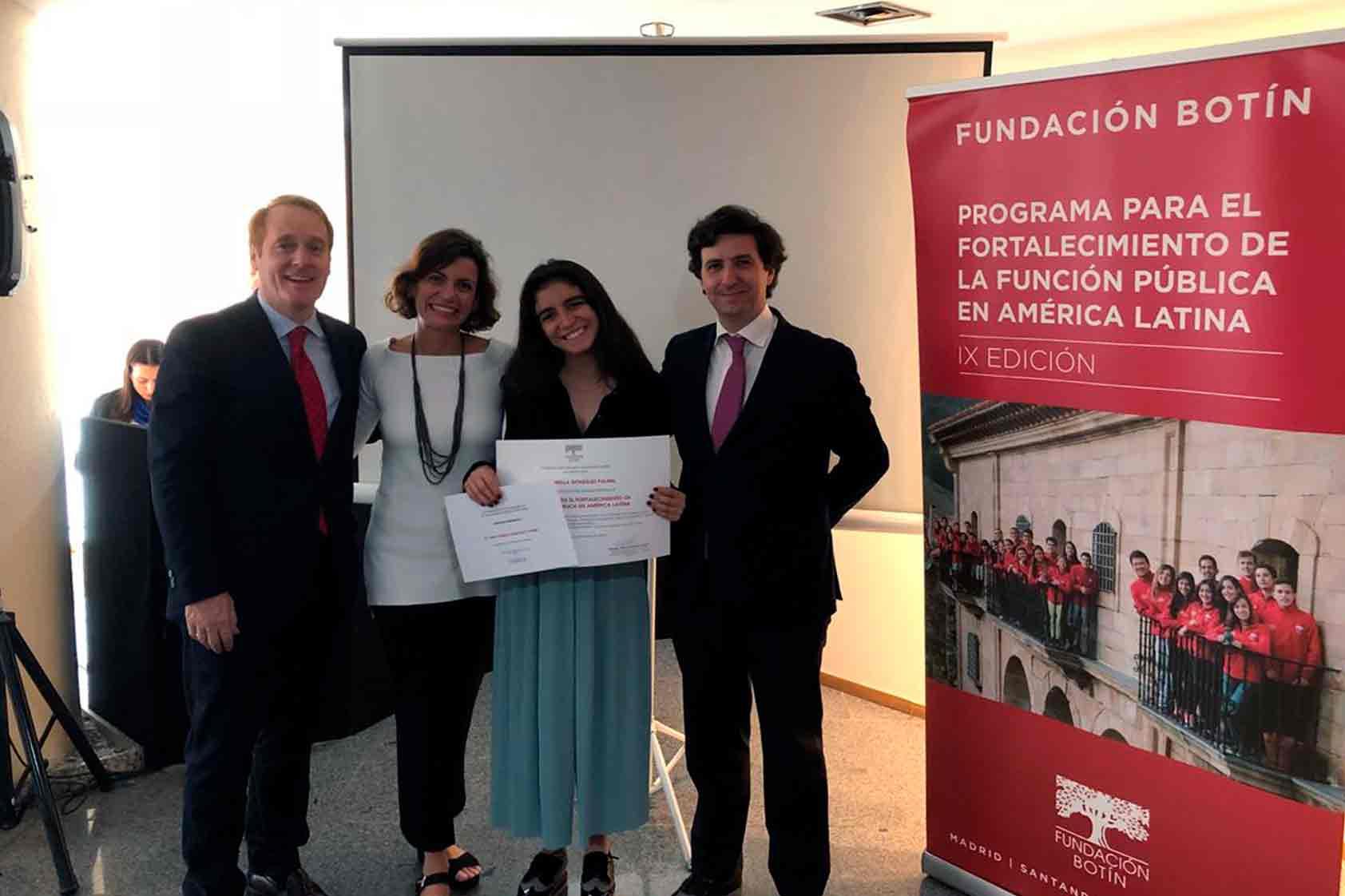 """Isabella González: """"crean en sí mismos para que puedan transformar su entorno"""""""