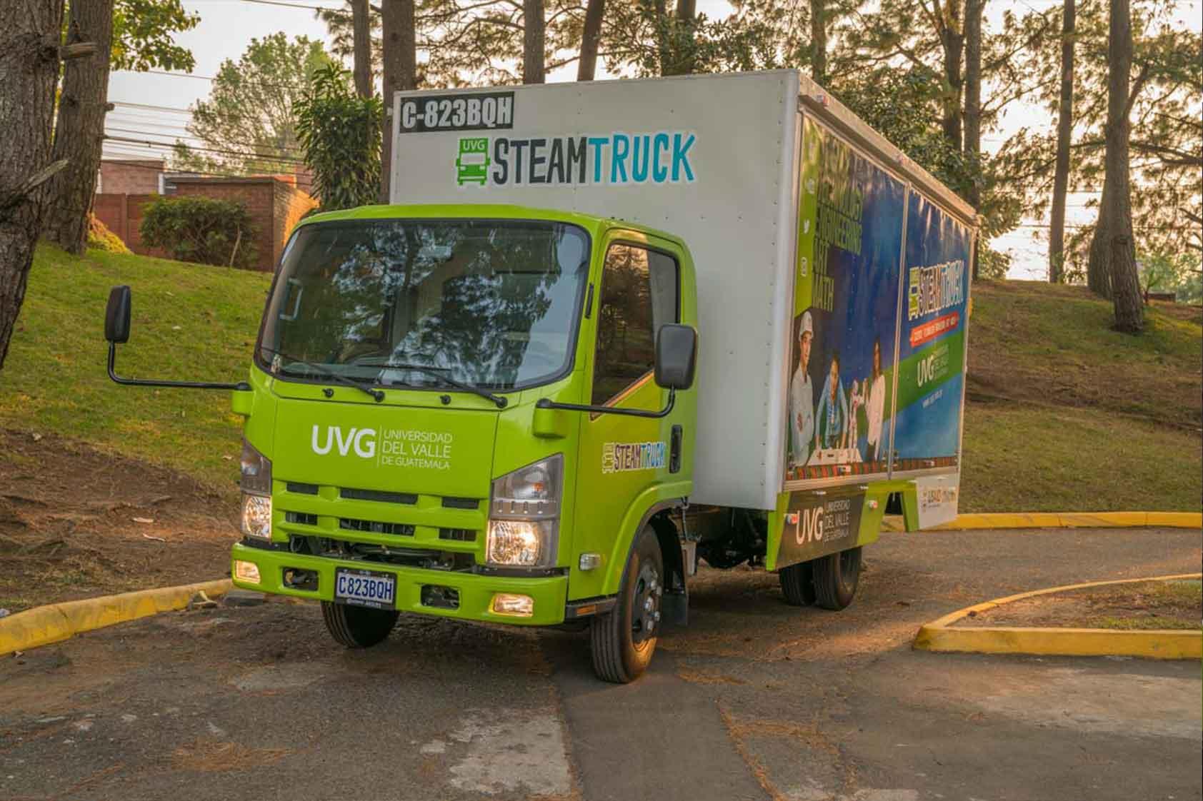 Conoce la nueva lección maker del Steam Truck