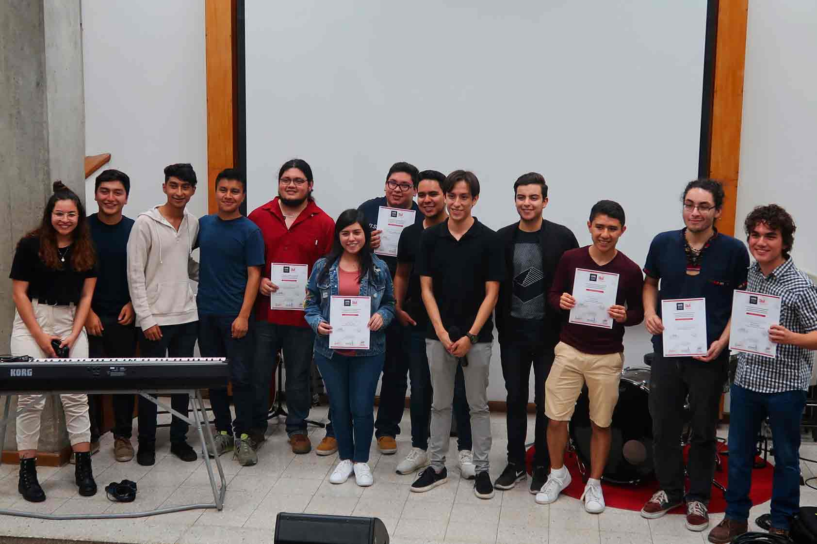 Primer concurso de composición musical: ¡En UVG hay talento!
