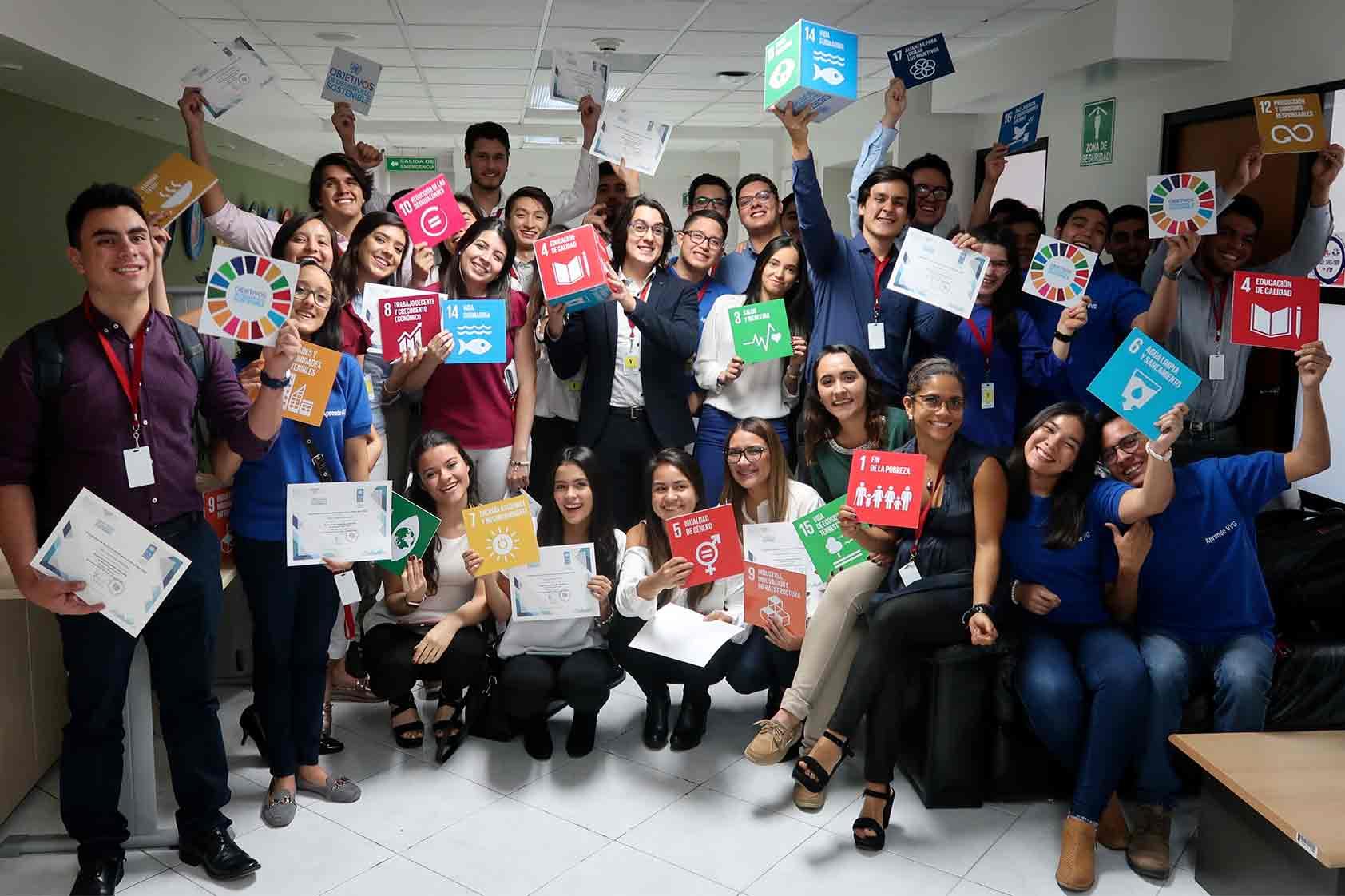 ¡Estamos creando proyectos que contribuyen a los ODS!