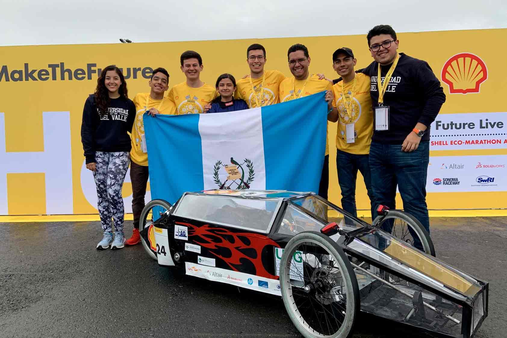 Shell Eco-Marathon ¡UVG representó a Centroamérica!