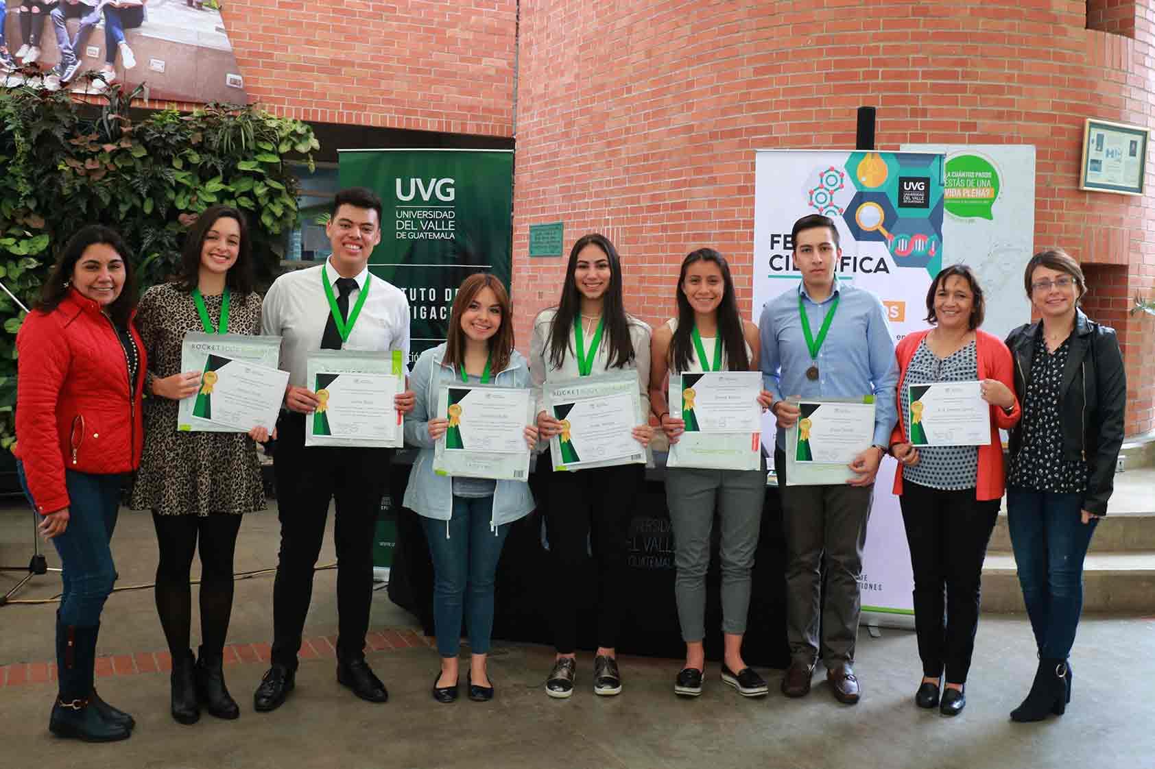 La cultura de investigación se fortalece en los estudiantes de UVG