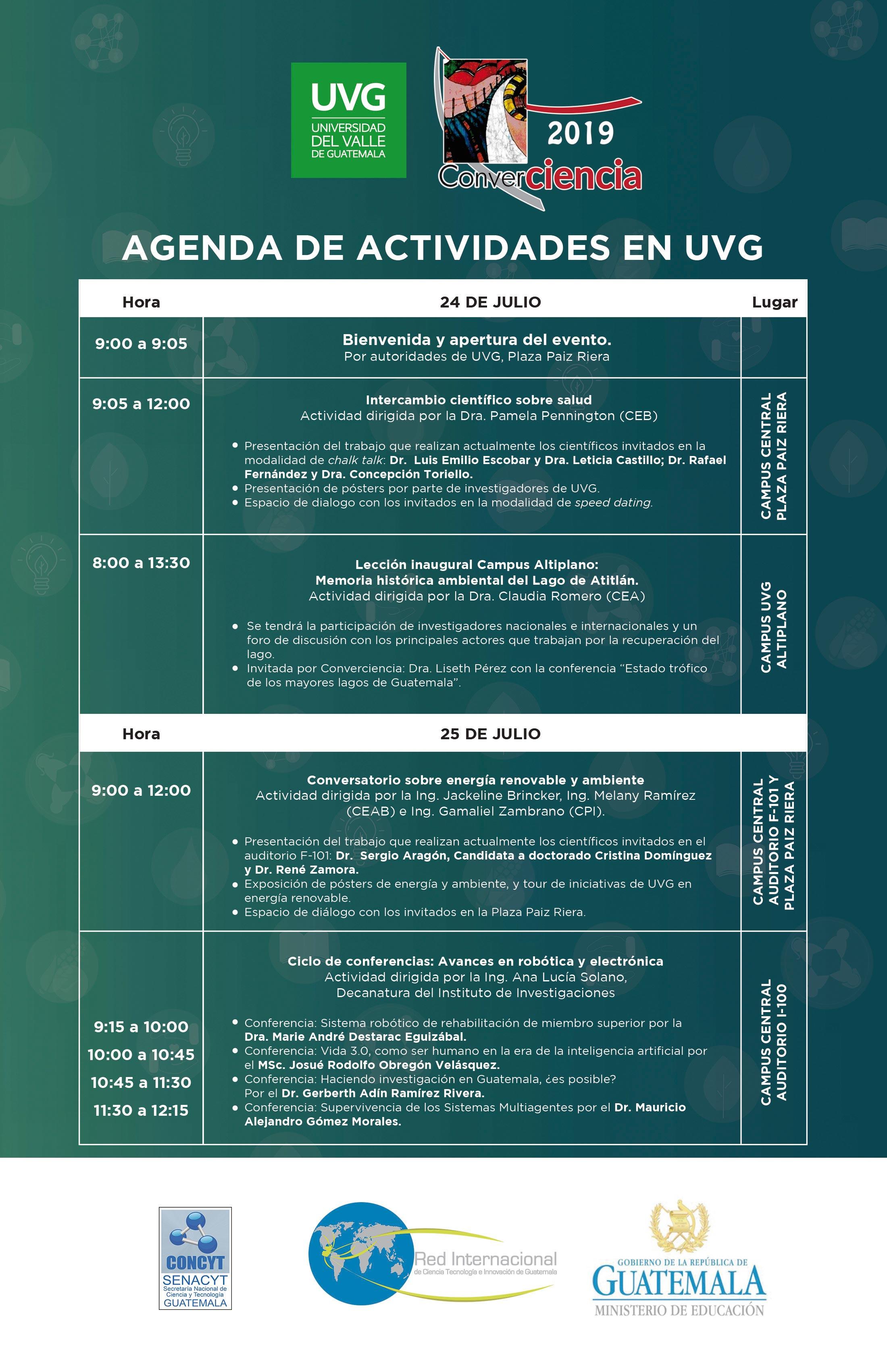 UVG será parte del evento científico más grande de Guatemala