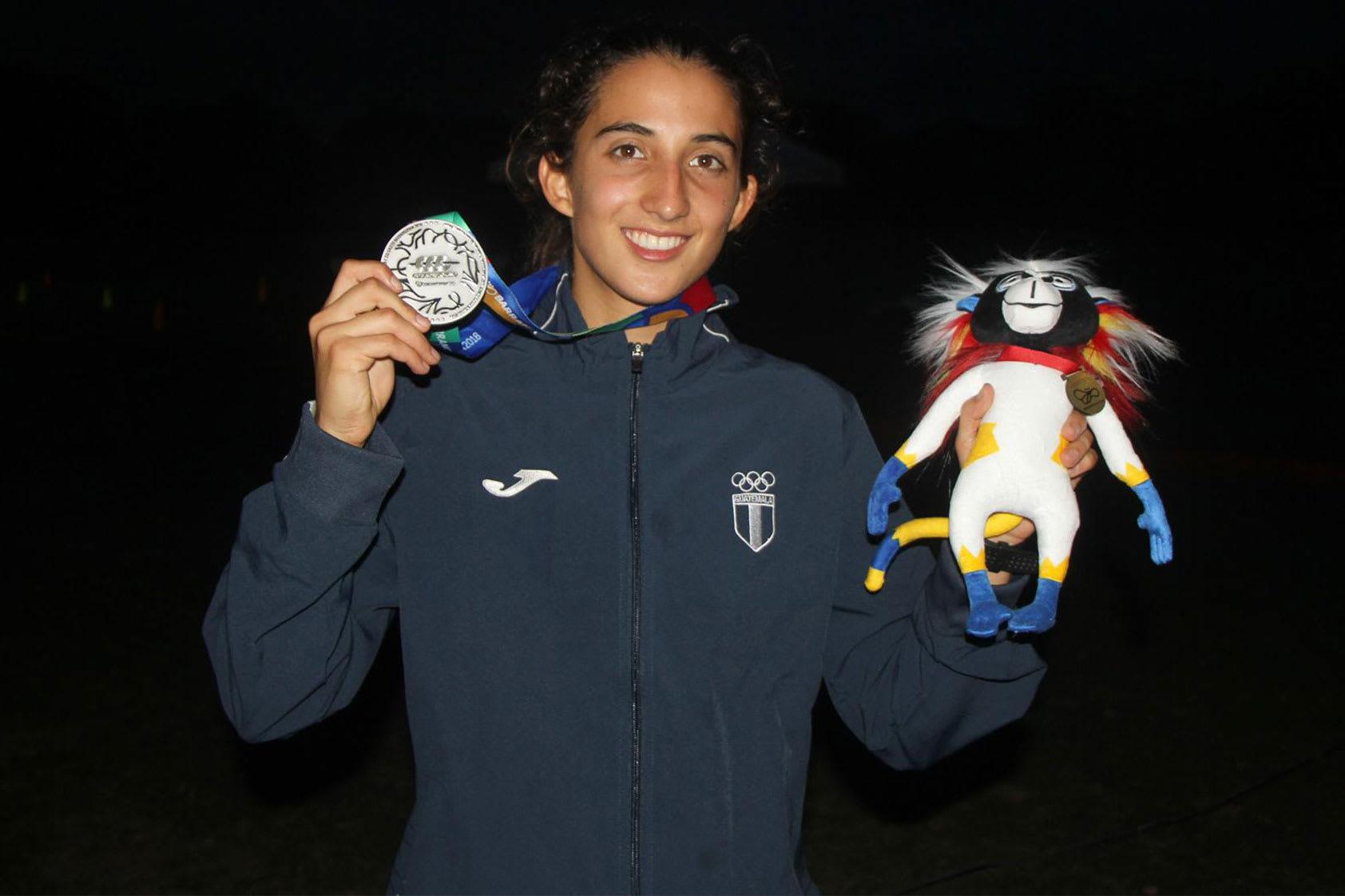 Sofía Cabrera y el camino hacia el sueño de competir en los juegos olímpicos