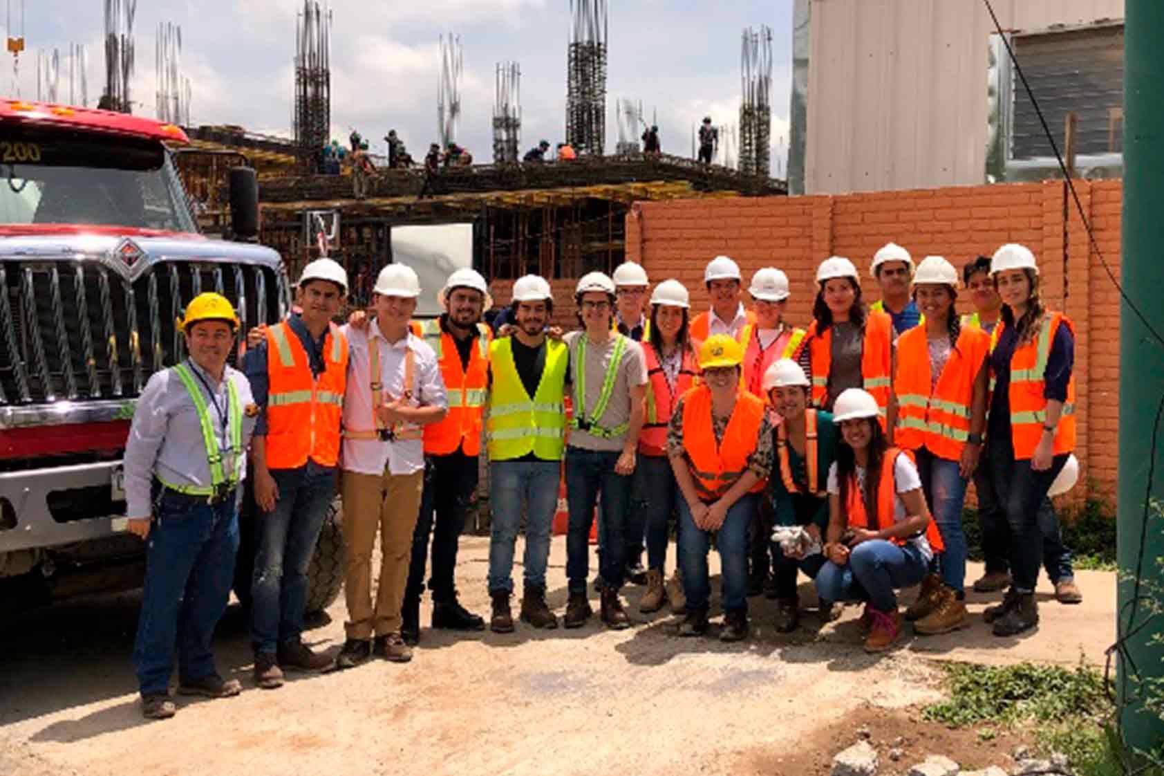 Estudiantes de ingeniería civil de UVG visitaron el CIT