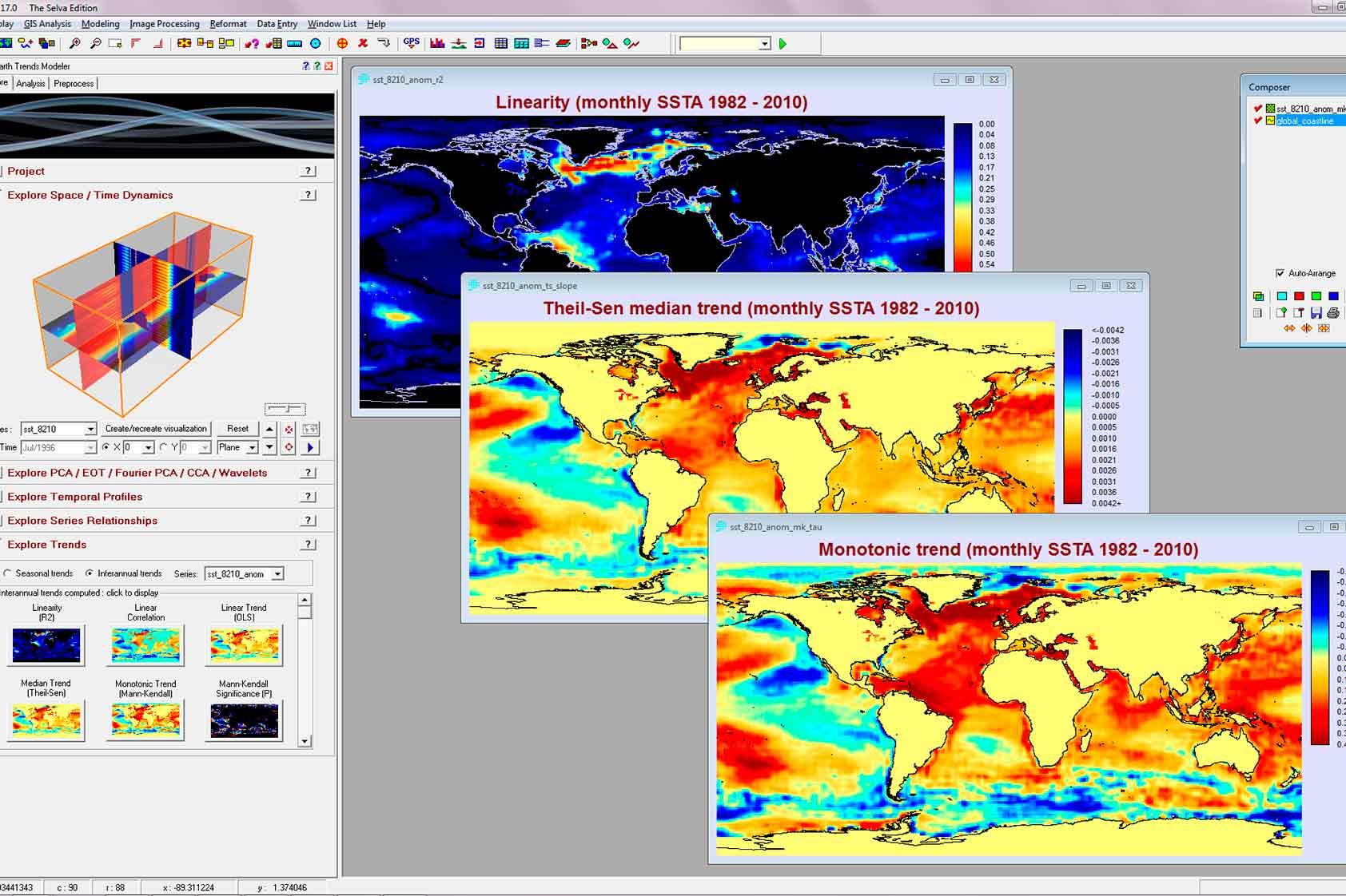 Imágenes de monitoreo de temperatura para diseñar mejores obras