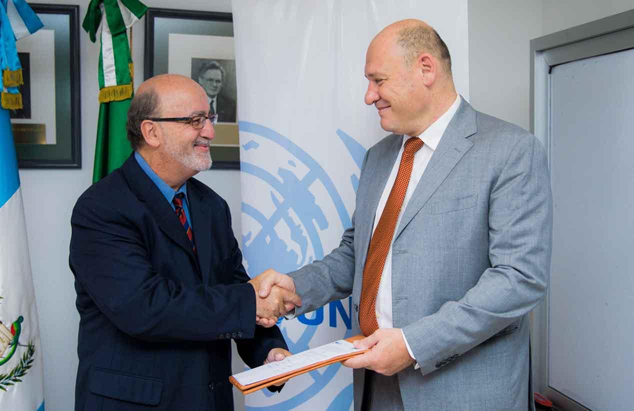 UNOPS y UVG firman convenio de apoyo interinstitucional